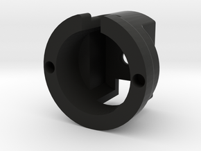 BIN160201 Lift Cover-ManTO in Black Natural Versatile Plastic