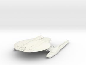 USS York - Cook Class in White Natural Versatile Plastic
