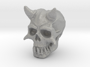 Demon Skull V1 in Aluminum