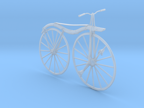 Printle Thing Velocipede - 1/24 in Smooth Fine Detail Plastic