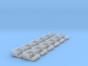 SCRAMBLER TUB12 PACK  in Smooth Fine Detail Plastic