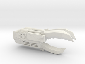 Ork Power Claw in White Natural Versatile Plastic