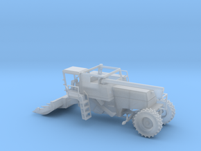 N Farm Combine V2 with Row Crop Header in Smooth Fine Detail Plastic