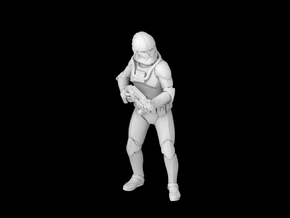 (Legion) Clone Pilot Phase 1 in Smooth Fine Detail Plastic