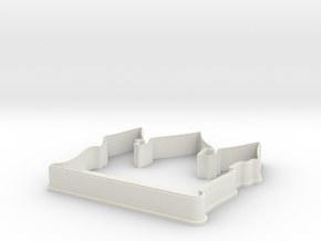 Castle cookie cutter for professional in White Natural Versatile Plastic