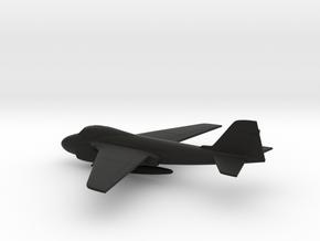 Grumman A-6E Intruder (w/o landing gears) in Black Natural Versatile Plastic: 1:200
