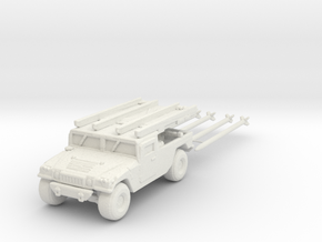 M1097a2 AIM-120B 160 scale in White Natural Versatile Plastic