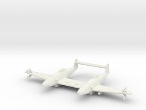 (1:144) Messerschmitt Me 309 Zw Nachtjäger in White Natural Versatile Plastic