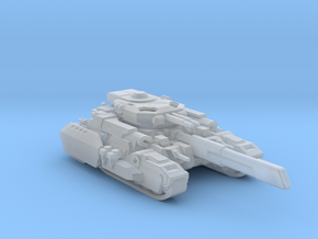 Super heavy tank Vanguard in Smooth Fine Detail Plastic