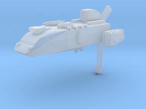 Battlefleet Gothic Tau custom heavy cruiser Kal aa in Smooth Fine Detail Plastic