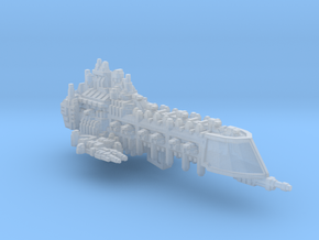 BFG Imperial Apocalypse Battleship  fleet scale in Smooth Fine Detail Plastic