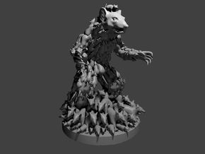 The Rat King in Smooth Fine Detail Plastic