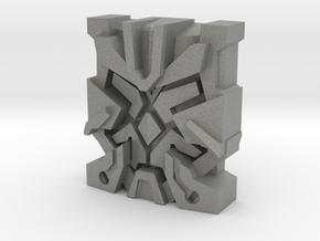 "Nexus Prime ""Leonine"" Matrix Plate in Gray Professional Plastic"