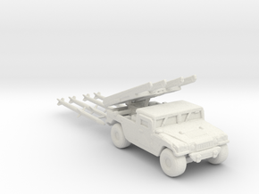 M1097a2 AIM-120B ver2 220 scale in White Natural Versatile Plastic