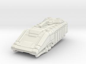Star Tourist Speeder High Detail Sci-Fi Miniature in White Natural Versatile Plastic