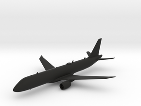 Embraer E190-E2 in Black Natural Versatile Plastic: 1:239