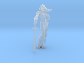 Taarna_28mm in Smooth Fine Detail Plastic