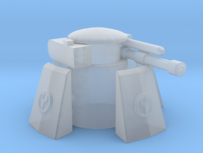 Tau sentry turret / gun in Smooth Fine Detail Plastic
