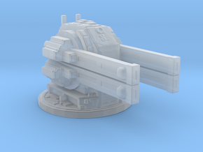 Tau sentry turret / AA gun in Smooth Fine Detail Plastic