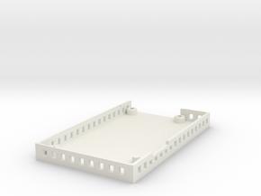 ElModCaseRevF case in White Natural Versatile Plastic