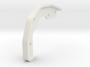 Tamiya Blazing Blazer Front Right Bumper Mount in White Natural Versatile Plastic