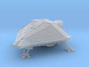 scifi Narciss shuttle lander  in Smoothest Fine Detail Plastic: 1:400