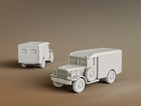 M43 Ambulance Scale: 1:285 in Smooth Fine Detail Plastic