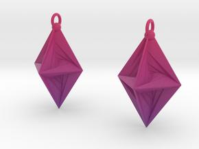 PsDode Earrings in Matte Full Color Sandstone