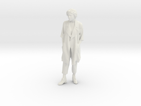 Printle F Theresa May - 1/24 - wob in White Natural Versatile Plastic