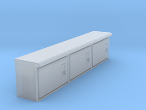 Rockin H Service Bed Cabinets in Smooth Fine Detail Plastic