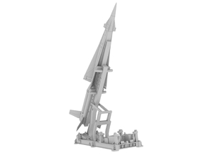 1:72 - Nike Hercules Launcher Raised in White Natural Versatile Plastic