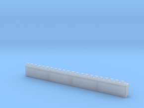 Roman Straight Wall Section Basic (6mm) in Smoothest Fine Detail Plastic
