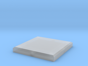 Modular Tile for Tabletop Gaming in Smooth Fine Detail Plastic