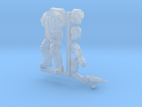 Earthling Soldier in Smooth Fine Detail Plastic