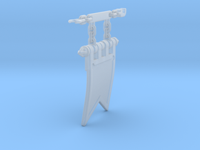 Thermal Cannon Banner 1.0 in Smoothest Fine Detail Plastic