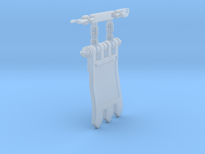 Thermal Cannon Banner 2.0 in Smoothest Fine Detail Plastic