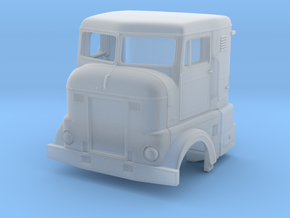 Bubblenose Bunk 1/64 Cabover in Smooth Fine Detail Plastic