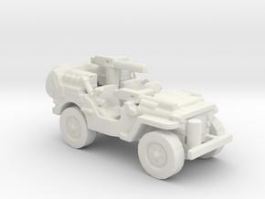 1/56 28mm SAS Jeep 4 in White Natural Versatile Plastic