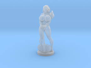 Shashana the Barbarian  - 40mm in Smooth Fine Detail Plastic