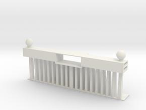 HO Scale Steam Loco Pilot 1 in White Natural Versatile Plastic