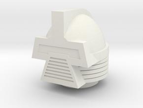 Cylon Magno Head in White Natural Versatile Plastic