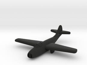 Mig-9 Jet Fighter (Russia) in Black Premium Versatile Plastic
