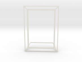 Photo Frame 10x15 cm - 4x6 inches in White Natural Versatile Plastic