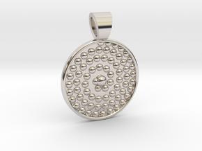 Life spiral [pendant] in Platinum