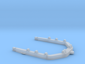 1:50 C Frame for Cat D8R models.  in Smooth Fine Detail Plastic