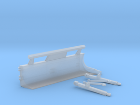 1:50 KG Blade for D8R C frame.  in Smooth Fine Detail Plastic
