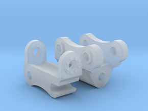 1:50 Komatsu PC138 Tilt Coupler  in Smooth Fine Detail Plastic