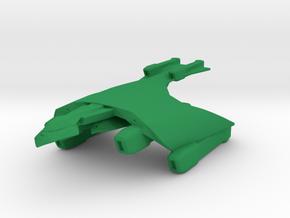 Romulan Imperial Hawk Class 1/7000 in Green Processed Versatile Plastic