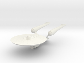 Enterprise-A Class in White Natural Versatile Plastic