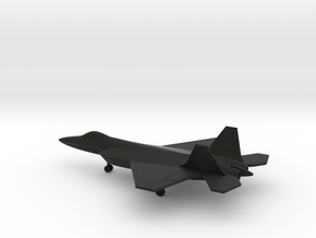 AVIC J-18 Red Eagle in Black Natural Versatile Plastic: 6mm